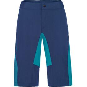 VAUDE Downieville fietsbroek kort Dames blauw